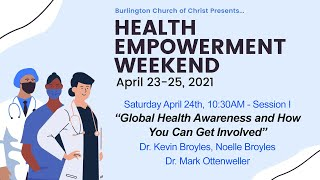 Keynote: Global Health Awareness and How You Can Get Involved