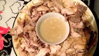 Жижиг - Галнаш, Очень вкусное чеченское блюдо. Легко и просто. Быстрый ужин