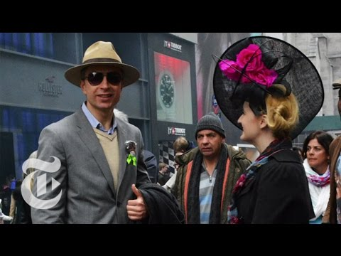 Easter Parade Galore | Bill Cunningham Fashion | The New York Times