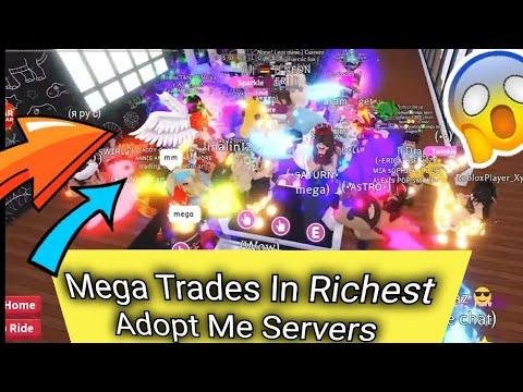 I Traded In The Most Richest Adopt Me Trading Server And Dream Pet Giveaway