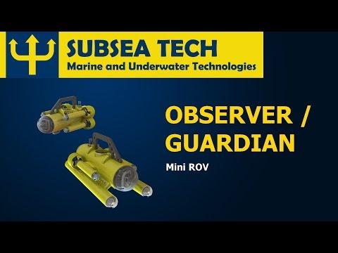 SubseaTech - MiniROV - Hand portable versatile observation vehicle