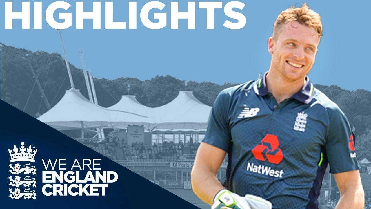 Buttler Hits Incredible 100 Off 50 Balls | England v Pakistan 2nd ODI 2019 - Highlights