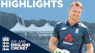 Buttler Hits Incredible 100 Off 50 Balls | England v Pakistan 2nd ODI 2019 - Highlights