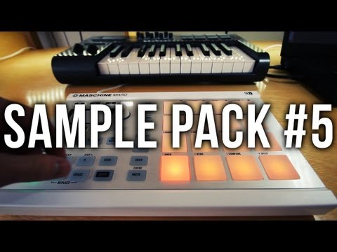 Making a Beat with Sample Pack #5 (Free for Maschine)