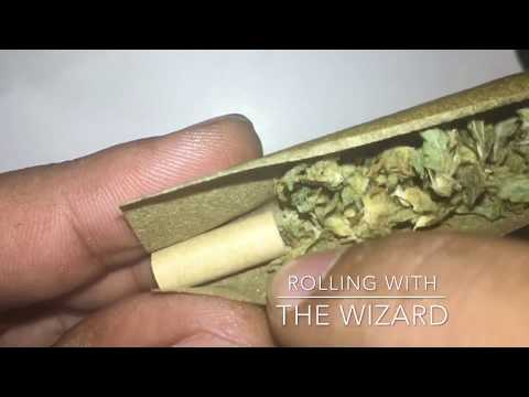 How to roll a blunt using a High Hemp Wrap