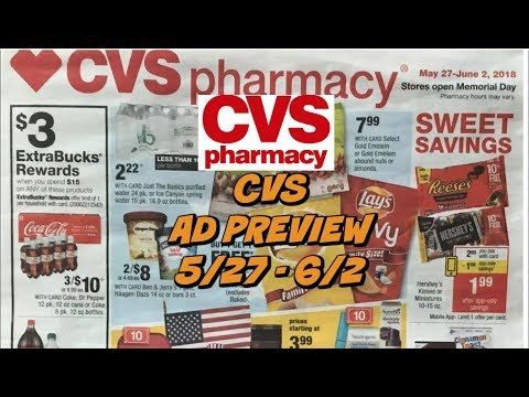 CVS EARLY AD PREVIEW 5/27 - 6/2 | FREEBIES this Week!