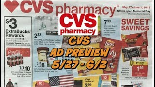 CVS EARLY AD PREVIEW 5/27 - 6/2   FREEBIES this Week!