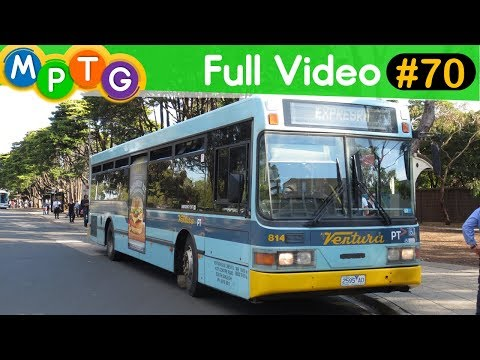 Buses at Monash University (Full Video #70)