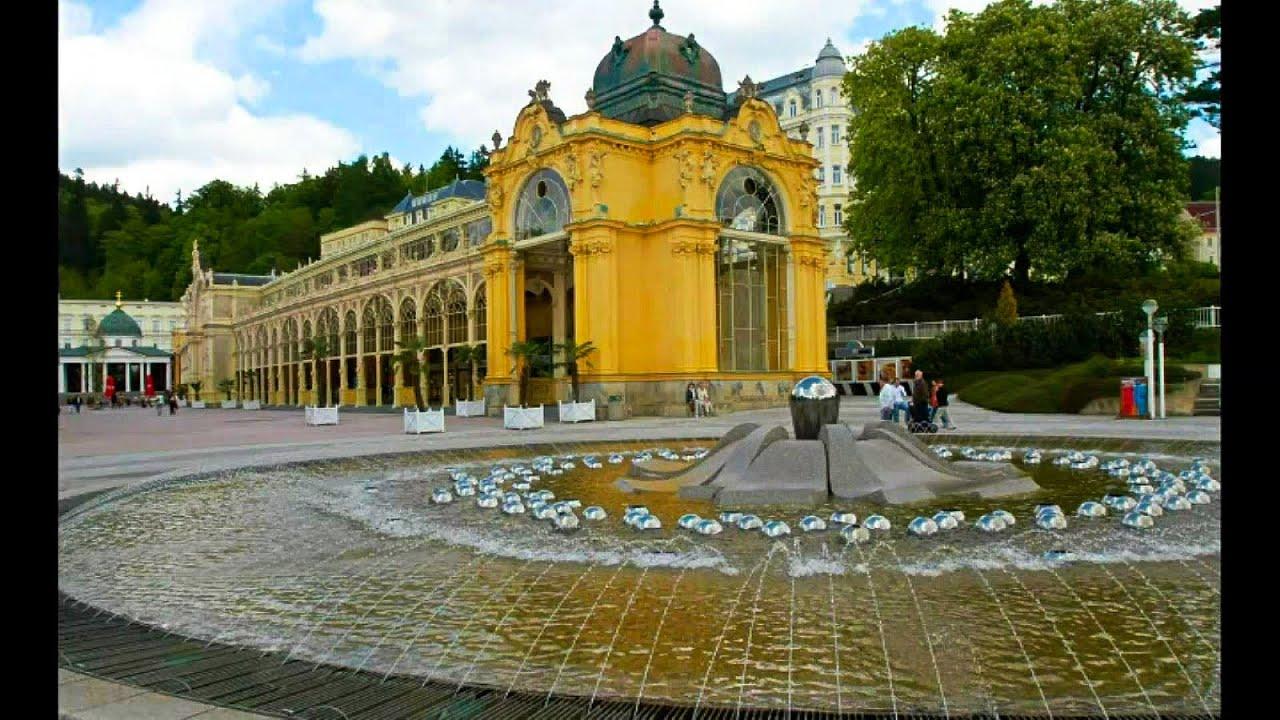 東歐捷克最美麗溫泉小鎮「卡羅維瓦利 Karlovy Vary + 瑪利安斯凱蘭澤 Marianske Laznen」 - YouTube