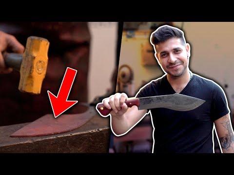 No creerás cómo se hacen los cuchillos