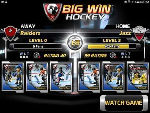 Let's play Big Win Hockey part 1 |