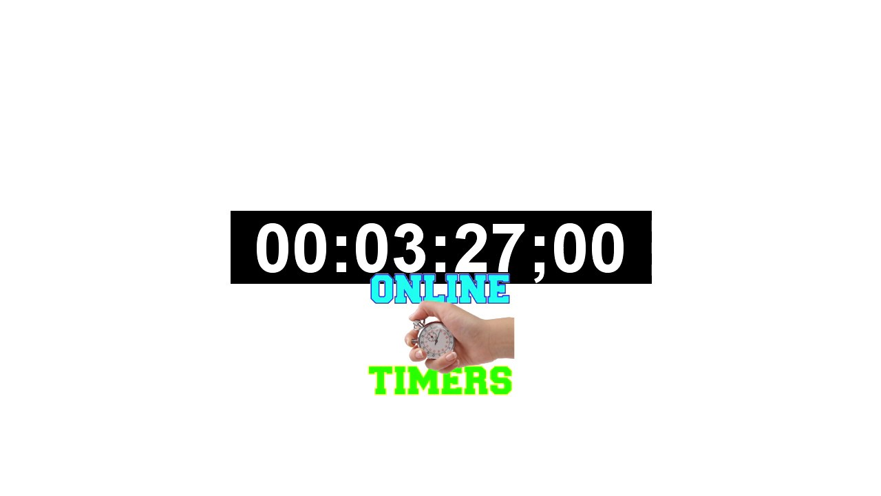 3 5 minutes timer countdown