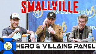 SMALLVILLE Hero & Villains Panel – Wizard World Austin 2019