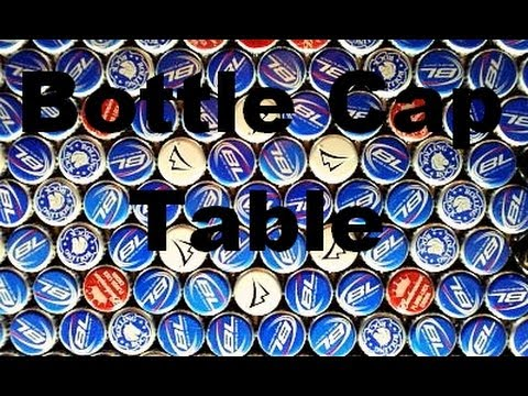 Bottle Cap Table - Everyone Might as Well