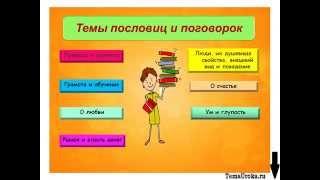 Презентация Пословицы и Поговорки