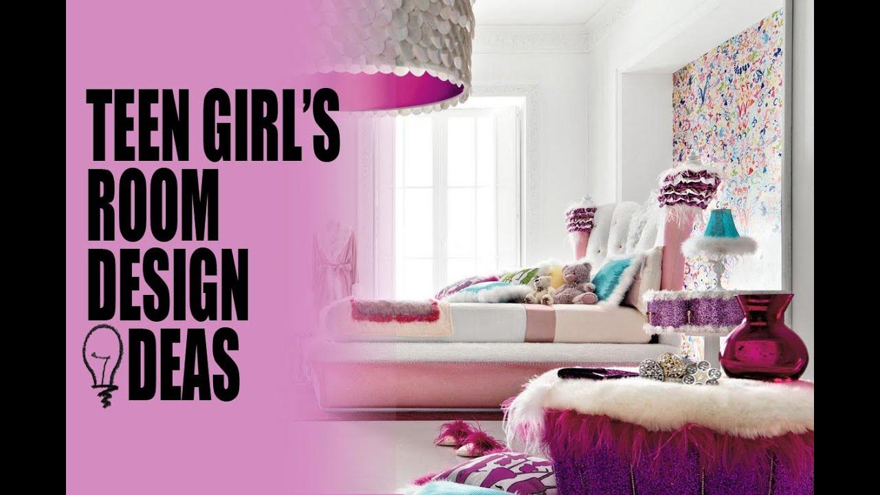 Teen girl's room design ideas - YouTube on Teenage Rooms Girl  id=25729