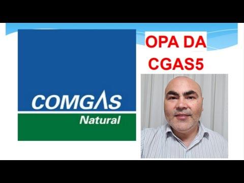Oferta Pública de Aquisição de Ações OPA da Comgás CGAS5 I Petinvest