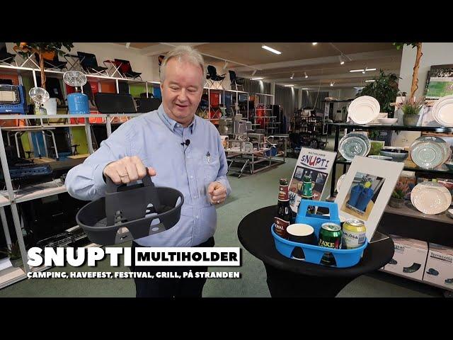 Snupti multiholder (Reklame)