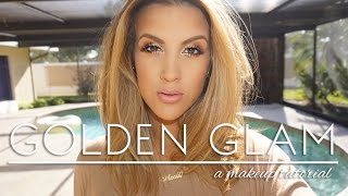 Makeup Look | Golden Glam