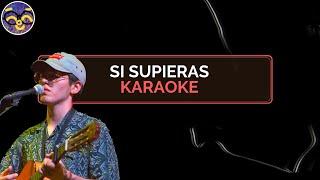 Kevin Kaarl I Si Supieras I Karaoke (Instrumental)