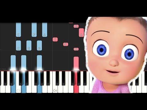 Johny Johny yes papa Theme (Piano Tutorial)