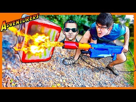 NERF FLAME THROWER