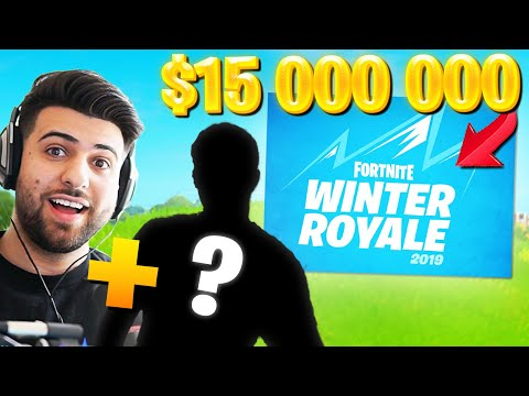 My NEW Duo For The $15 Million Winter Royale Duo Tournament! (Fortnite Battle Royale)