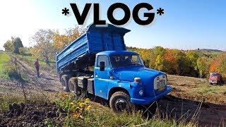 *Holbra VLOG* #56 Tatra 148 a Man - problémy na skládce