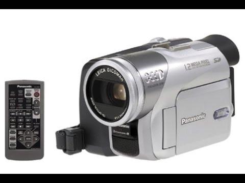 panasonic pv gs120 3ccd minidv camcorder w 10x optical zoom reviews rh youtube com