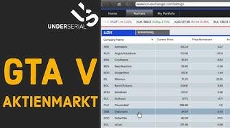 GTA V Aktien - Mit Aktien an der Börse Geld verdienen #1