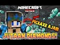 PICKAXE MAX LEVEL FORTUNE DAPET JUTAAN DIAMONDS! - MINECRAFT SHOWCASE
