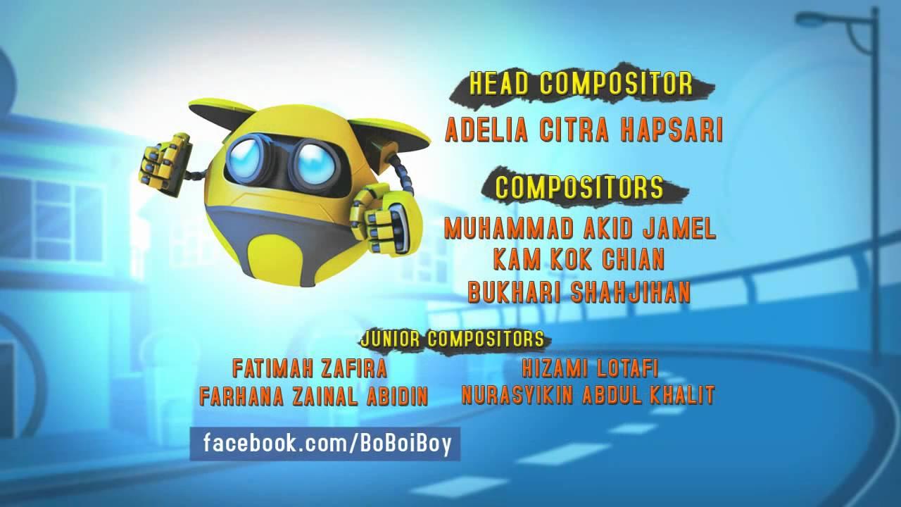 """Download BoBoiBoy Ending Credits """"Bersedia"""" (BM)"""