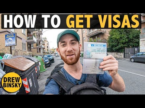 HOW TO GET VISAS (to travel the world)