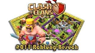 Let's play Clash Of Clans #011 - Achtung Besuch [Deutsch / German][LP iOS IPhone]