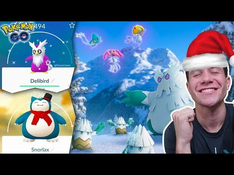 THE 2018 HOLIDAY UPDATE EVENT IN POKÉMON GO! + World's First PVP Tournament!