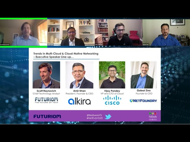 Trailer: NetEvents Inter@ctive: Trends in Multi-Cloud & Cloud-Native Networking
