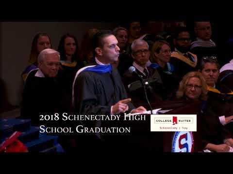 Assemblyman Angelo Santabarbara 2018 Schenectady High School Graduation Speech