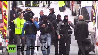 LIVE: Police raid in Paris district of Saint-Denis
