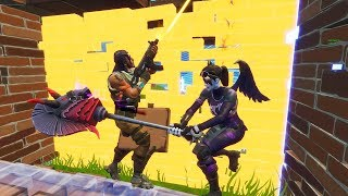 I'm THE LAST IN THE PIOCHE! FORTNITE NEW DARK BOMBER SKIN!