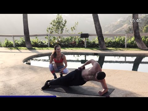 20 Min Workout with Weights // Gain Lean Muscles // Abs Arms