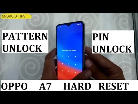 Oppo A7 Hard Reset - YouTube