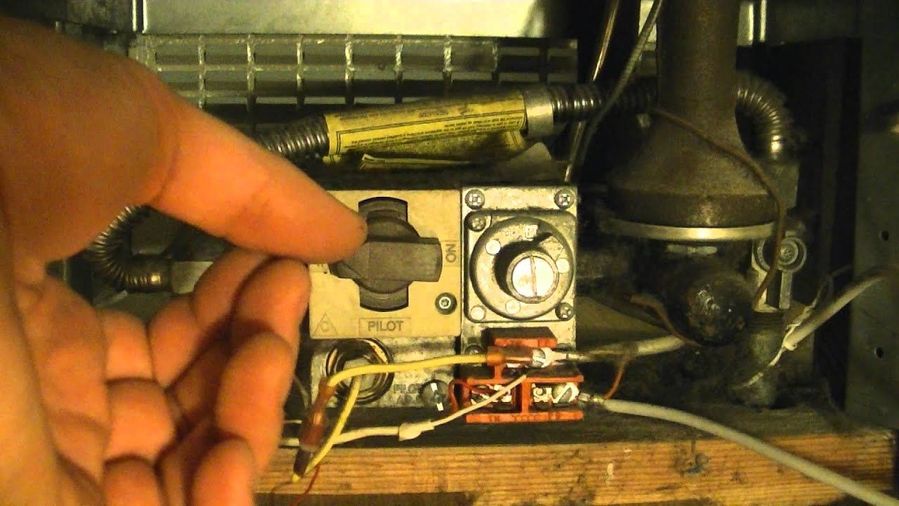 How To Light The Pilot Light On A Gas Heater  YouTube