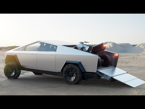 2021 Tesla Cybertruck pickup truck is here! Full presentation exterior interior