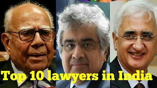 Famous Lawyers From India
