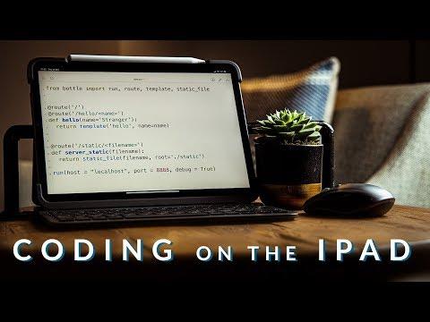 Coding On The IPad Pro -  Part 1