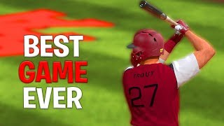 Mike Trouts Best Game EVER! *Road To Goat Squad* MLB The Show 18 Ranked Seasons