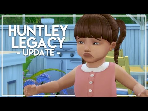 HUNTLEY LEGACY // The Sims 4: Current Household (February)
