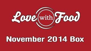 Love With Food Box - November 2014