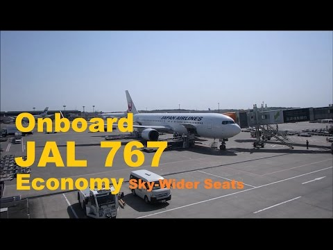 Japan Airlines | Boeing 767 Tokyo to Manila NRT-MNL in Economy Class [Sky Wider Seats Upgrade]