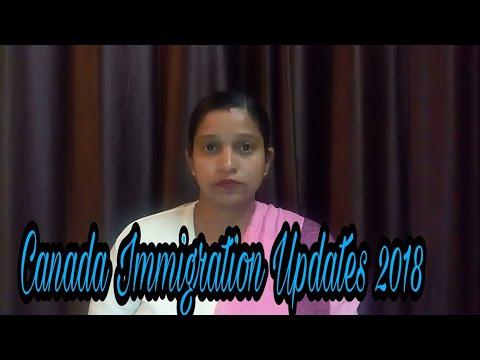 Canada Immigration Updates 2018